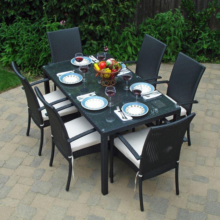 Tavoli in plastica mobili da giardino tavoli - Tavolo plastica esterno ...