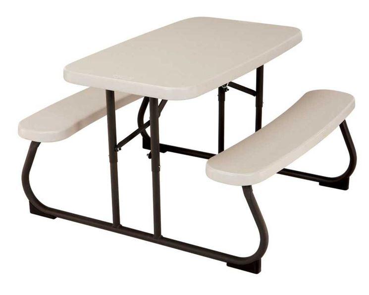 Tavolo in plastica da esterno pieghevole