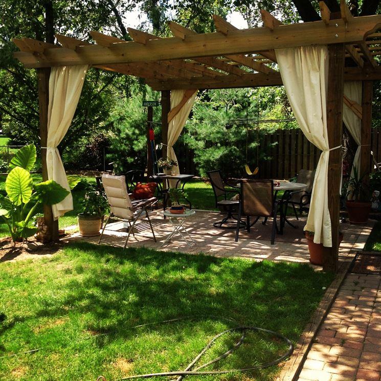 Coperture da giardino pergole e tettoie da giardino - Pergola da giardino ...