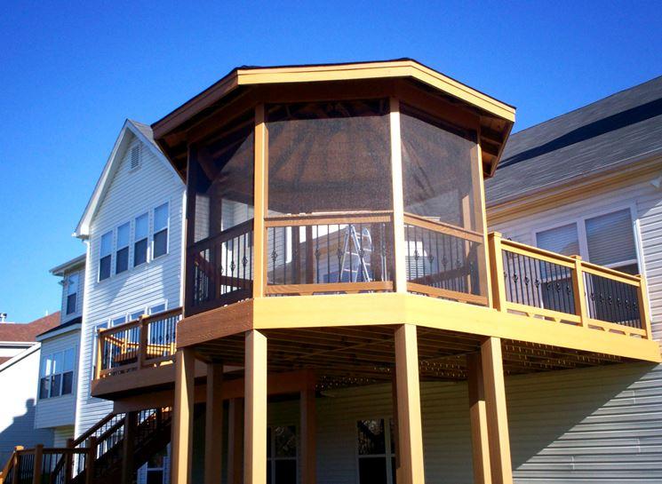 copertura balcone chiuso