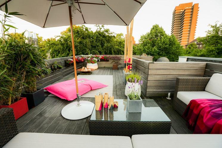 coperture per terrazzi pergole e tettoie da giardino. Black Bedroom Furniture Sets. Home Design Ideas