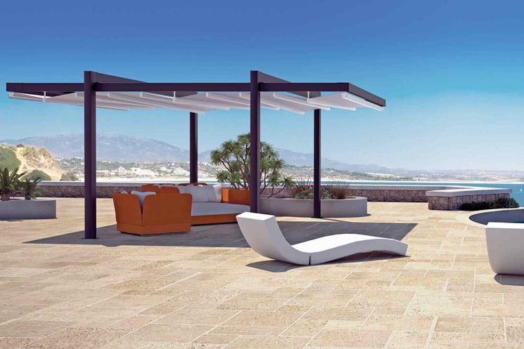 Coperture per terrazzi pergole e tettoie da giardino - Arredo terrazzi e balconi ...