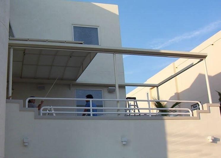 Copertura per veranda