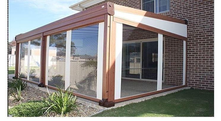 Coperture per verande pergole e tettoie da giardino tipologie delle coperture per verande - Verande da giardino in legno ...