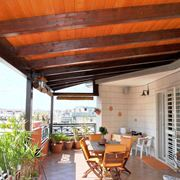 Coperture per terrazzi in legno