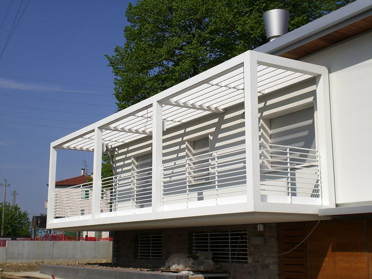 abbastanza Coperture terrazzi - pergole e tettoie da giardino - Come  FK07