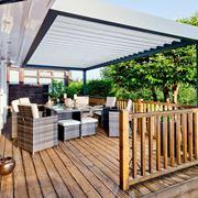 copertura per terrazzo esterno
