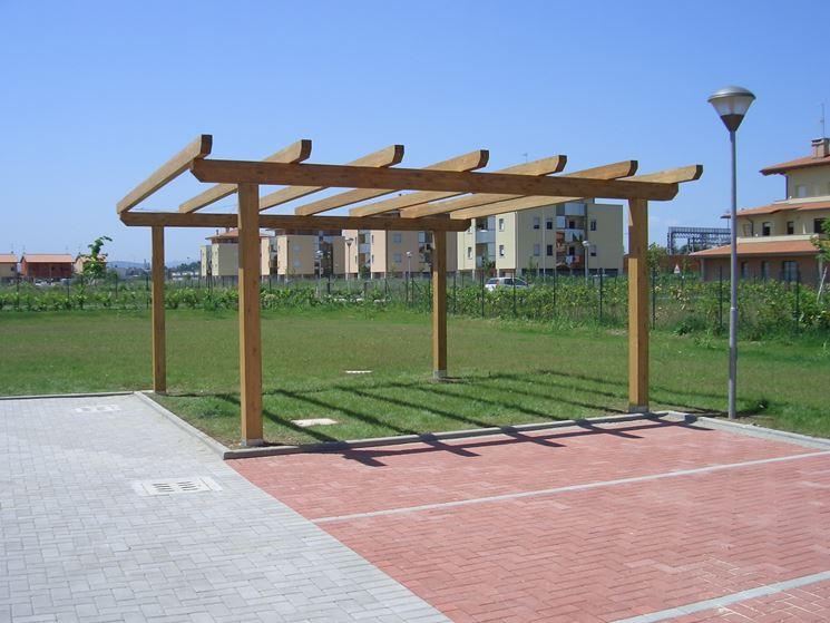 Costruire un pergolato pergole e tettoie da giardino consigli per costruire un pergolato - Costruire un giardino ...