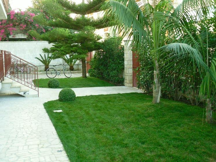 Pensiline in acciaio pergole e tettoie da giardino - Idee progettazione giardino ...