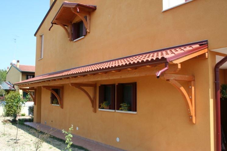 pensiline in legno pergole e tettoie da giardino