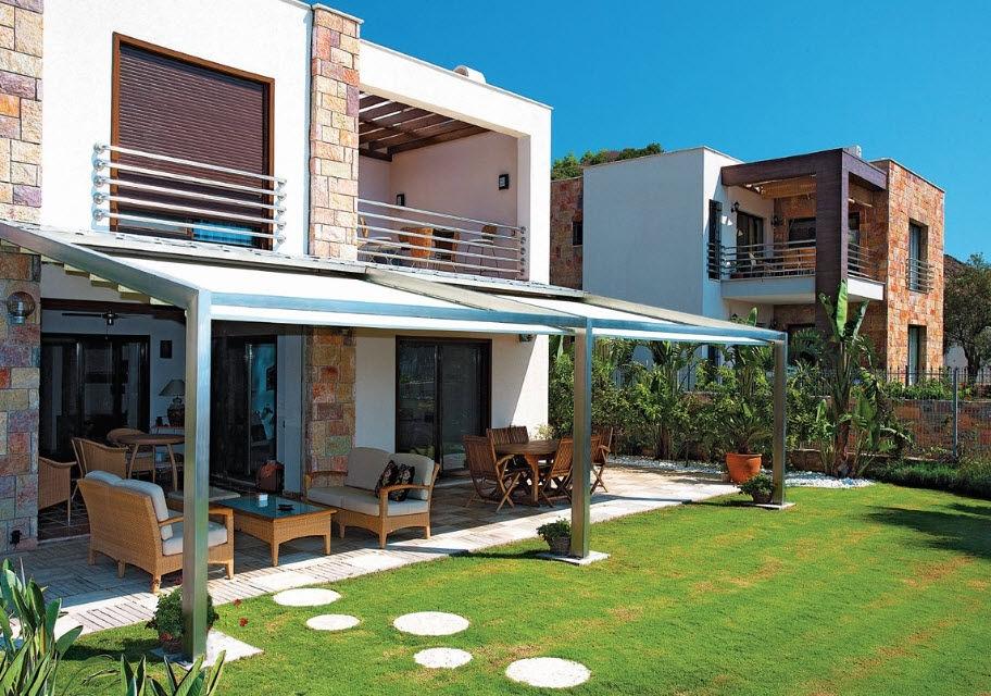 Pergole in alluminio pergole e tettoie da giardino - Pergole da giardino ...