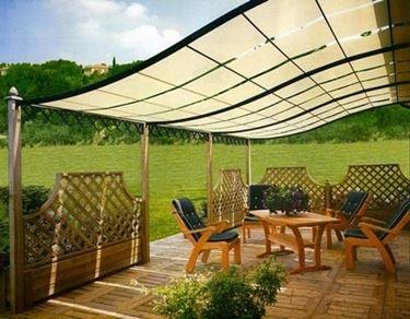 Pergole in ferro pergole e tettoie da giardino for Arredamento da giardino