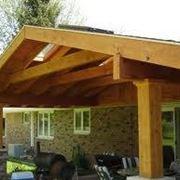 Strutture in legno per terrazzi - pergole e tettoie da giardino ...