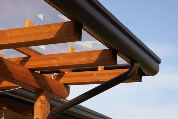 Tettoia in legno pergole e tettoie da giardino tettoia for Pergola bioclimatica prezzo mq