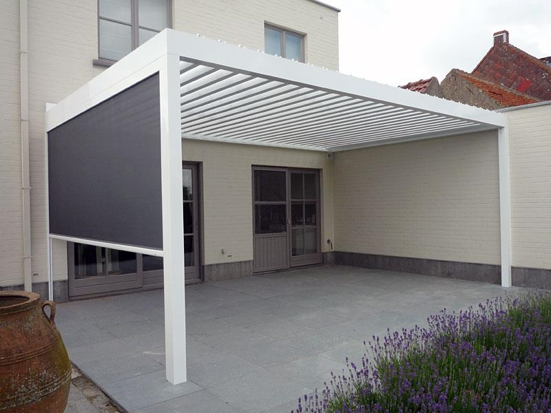 Tettoie in alluminio pergole e tettoie da giardino for Finestra usata per ventilazione