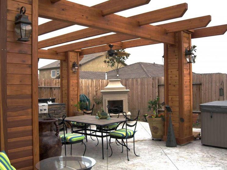Plafoniere Per Tettoie : Illuminazione per tettoie in legno happycinzia