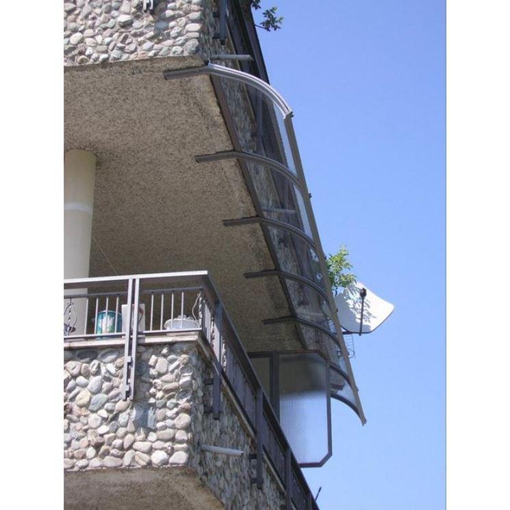 Pensilina per balcone