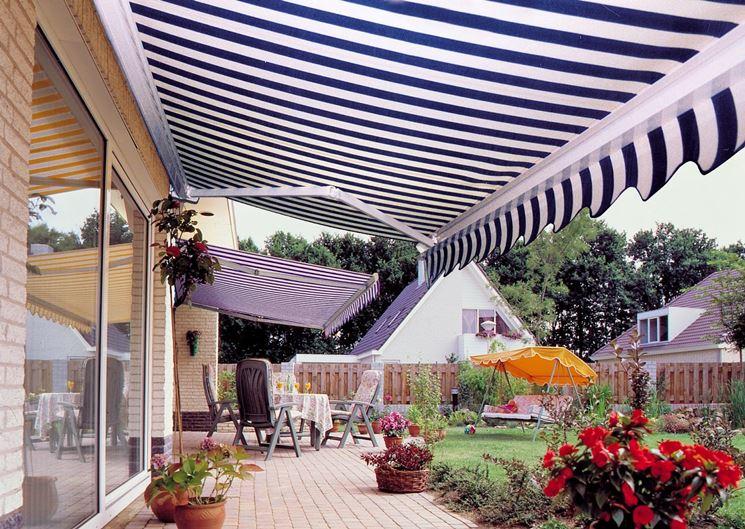 Eccezionale Tettoie per terrazzi - pergole e tettoie da giardino - Tettoie per  IG28