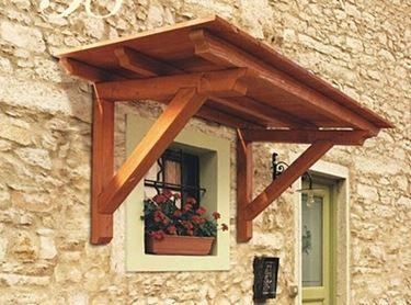 tettoia per abitazione in legno