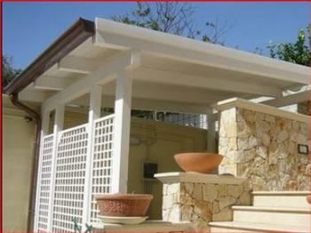 Vendita tettoie pergole e tettoie da giardino - Archi per giardino ...