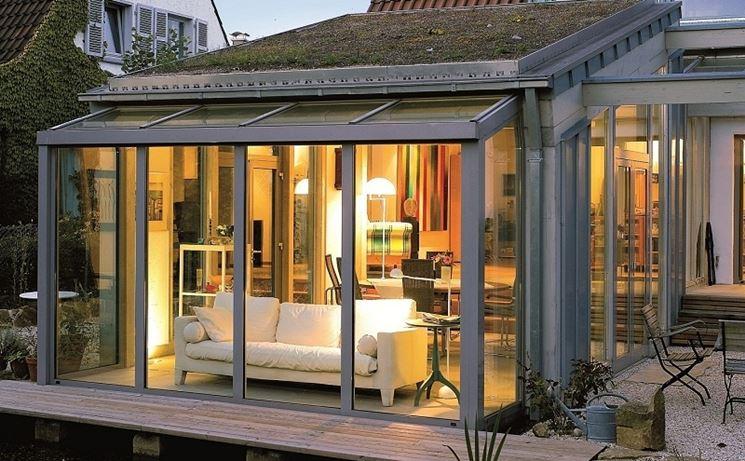 verande esterne pergole e tettoie da giardino arredare. Black Bedroom Furniture Sets. Home Design Ideas