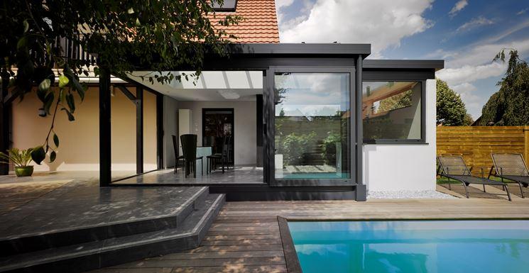 Veranda esterna modulare