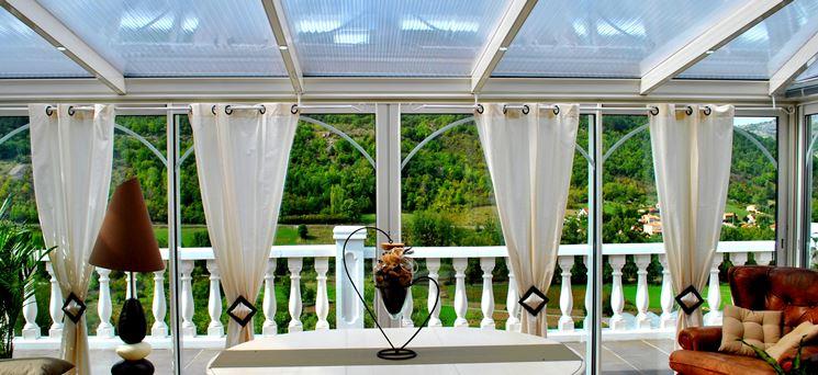 Verande per terrazzi pergole e tettoie da giardino - Arredi per giardini e terrazzi ...