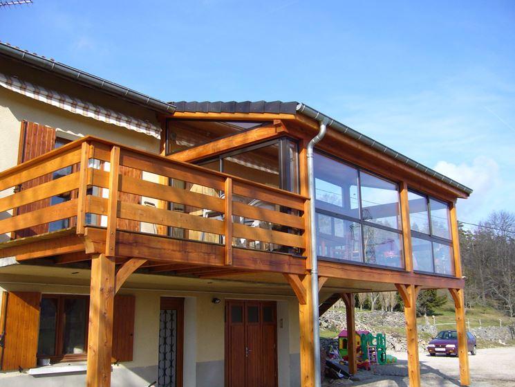 Verande per terrazzi - pergole e tettoie da giardino - Realizzazione ...
