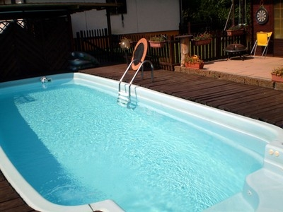 arredamento piscine - piscine - Come Arredare Un Giardino Con Piscina