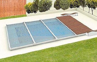 Copertura e teli per piscina piscine - Cout piscine desjoyaux ...