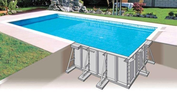 Piscina fai da te piscine piscina fai da te arredamento for Arredamento piscine