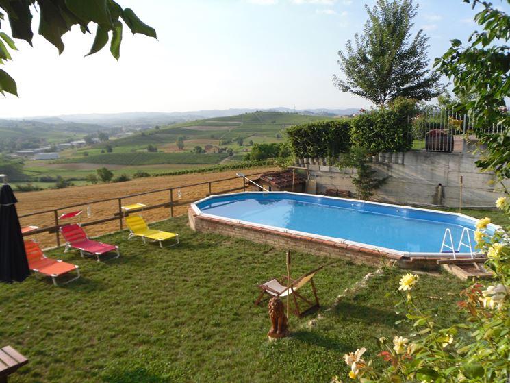 Piscine da giardino fuori terra piscine piscine fuori - Rivestire piscina fuori terra fai da te ...