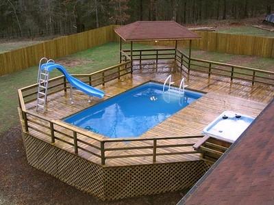 Piscine fuori terra piscine installare piscine fuori terra for Terra per giardino