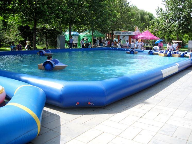 Le piscine gonfiabili