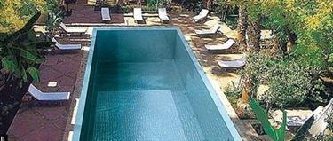 piscina in acciaio