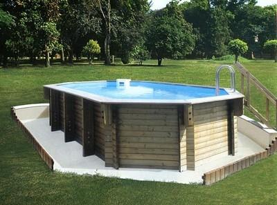 Piscine in legno piscine for Piscina in giardino