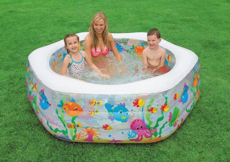 Piscine per bambini piscine tipologie di piscine per - Bambini in piscina a 3 anni ...