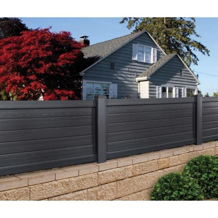 Recinzioni giardino recinzioni come recintare il giardino - Archi per giardino ...