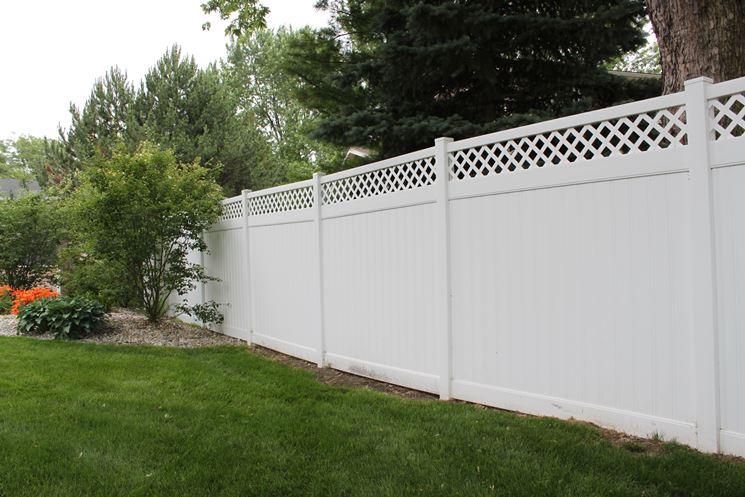 recinzioni prefabbricate in pvc