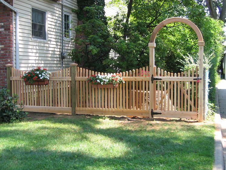 Steccato Giardino Plastica : Recinti per giardini. recinzioni per giardino with recinti per