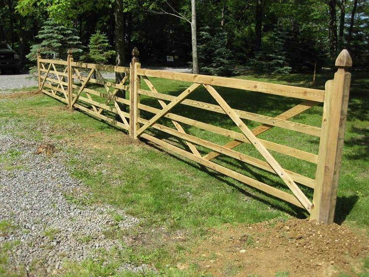 Staccionate recinzioni come scegliere le staccionate - Staccionate da giardino ...