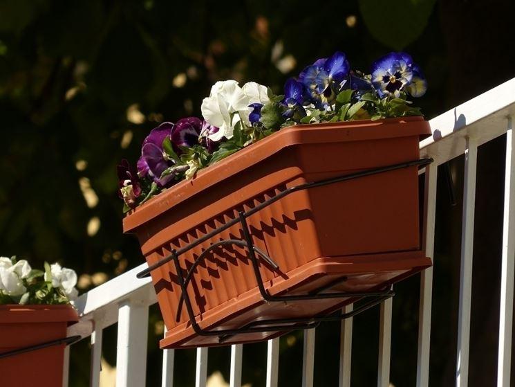 fioriere da balcone vasi e fioriere tipologie di