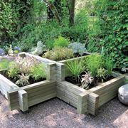 Fioriera da giardino in legno