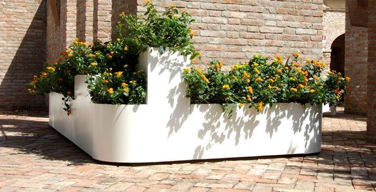 fioriere esterno vasi e fioriere fioriere per esterno