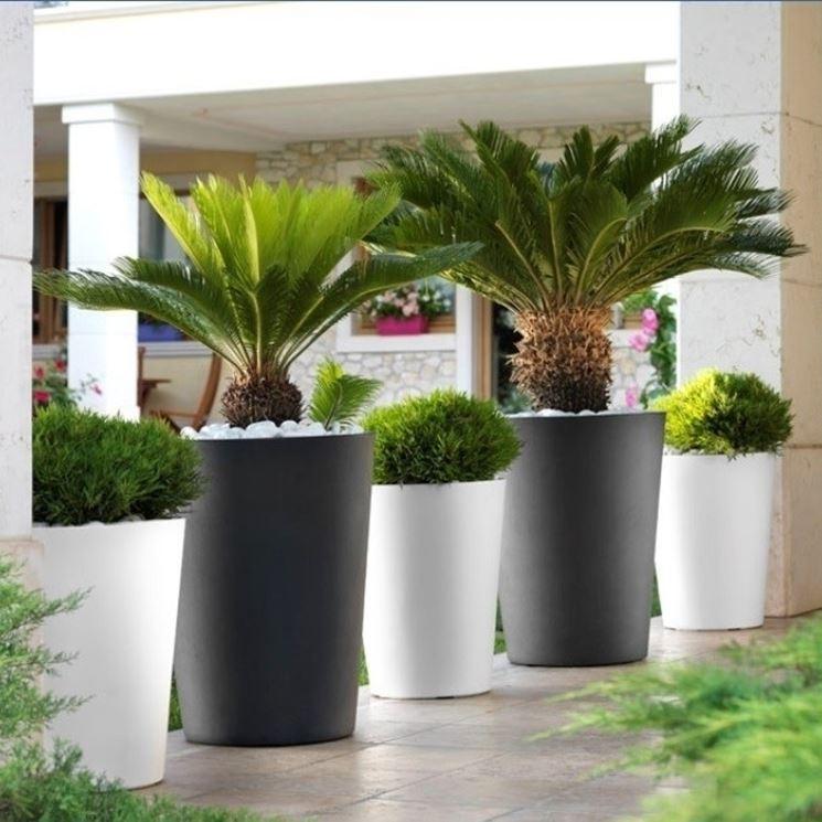 Fioriere in resina vasi e fioriere resina per for Piante per terrazzi