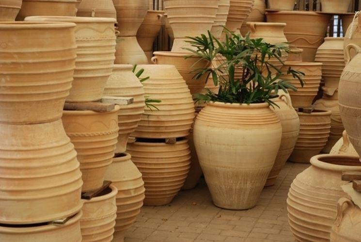 Fioriere in terracotta