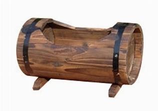 Vasi in legno vasi e fioriere for Vasi da ringhiera