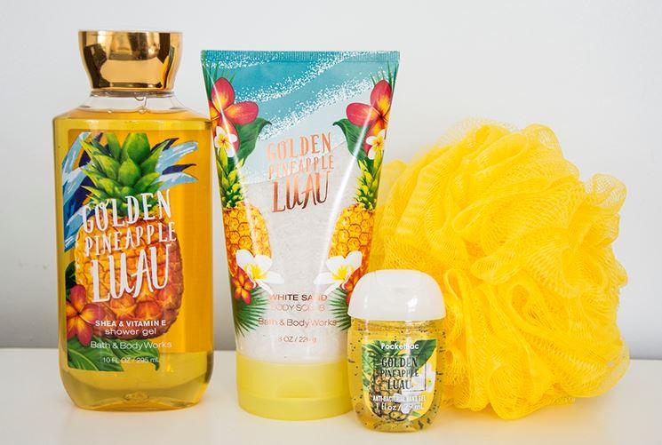 prodotti con ananas