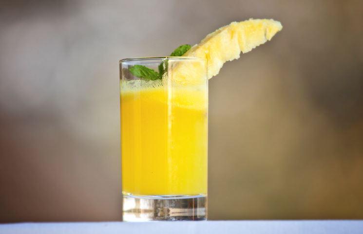 succo all'ananas