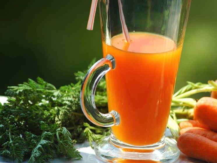 decotto di carota